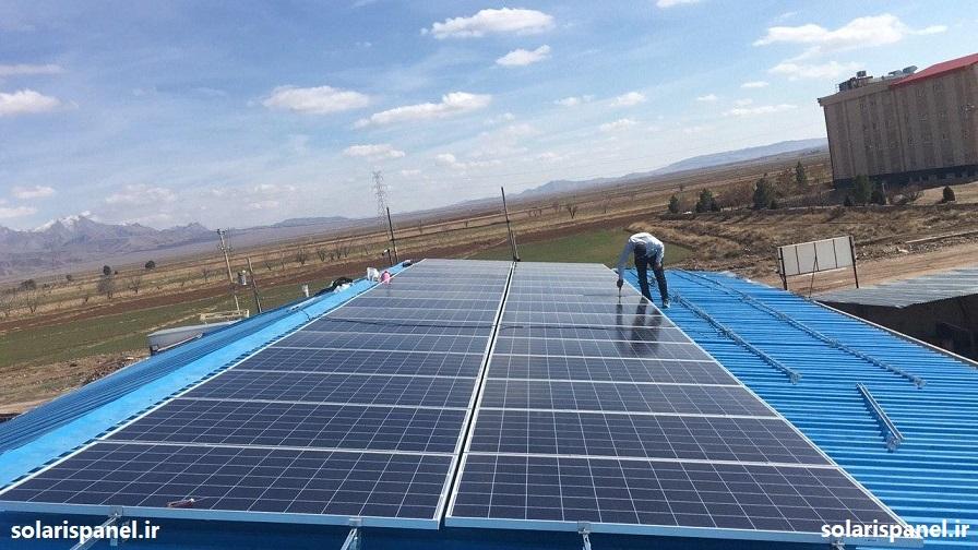 مراحل ساخت نیروگاه خورشیدی