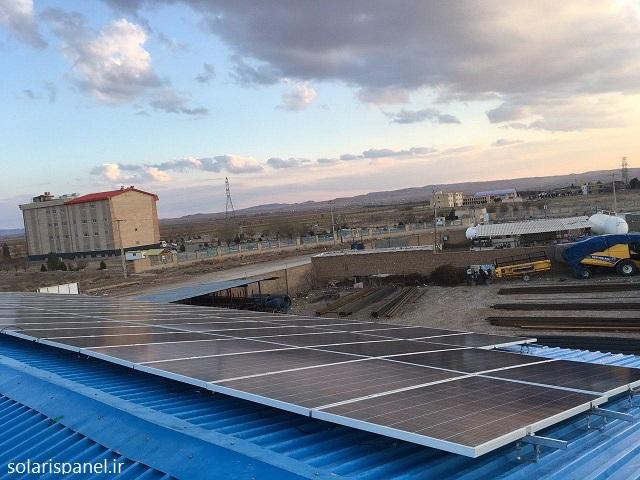 تجهیزات مورد نیاز نیروگاه خورشیدی